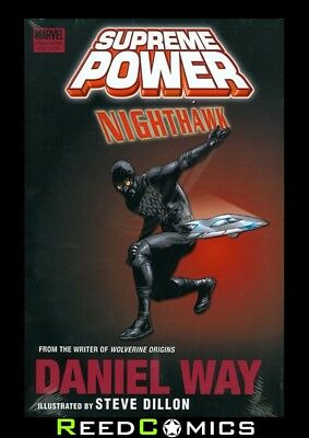 SUPREME POWER NIGHTHAWK HARDCOVER New Hardback Collects 6 Part Series
