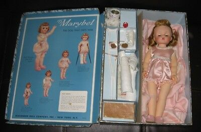 Vintage Madame Alexander Marybel Get Well Doll in Box Beautiful Excellent Cond.