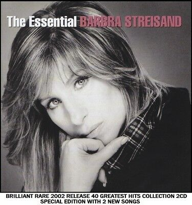 Barbra Streisand - Very Best Essential 40 Greatest Hits Collection - RARE 2CD