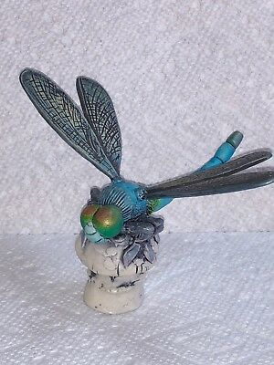 Harmony Kingdom Artist Neil Eyre Designs dragonfly wings insect mushroom LE12