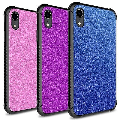 CoverON Glimmer Series Apple iPhone XR / 10R Case Cute Glitter Bling Phone Cover