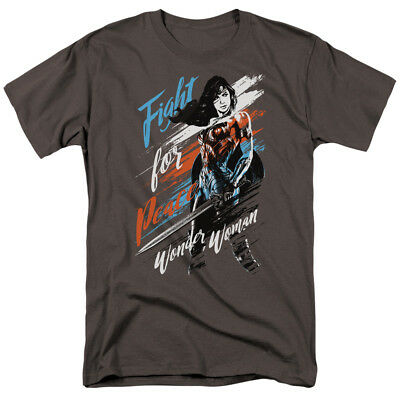 Wonder Woman Movie Fight For Peace T-shirts for Men Women or Kids
