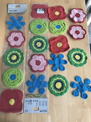 Ikea Lusy Macrame Patches Granny Squares