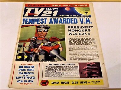 TV CENTURY 21 # 18 May 22 1965/2065 Stingray/Daleks/Fireball xl5/Lady Penelope