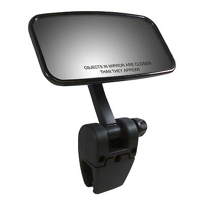 CIPA 11073 Concept II Clamp On Rear View Wake Boat Windshield Marine Mirror