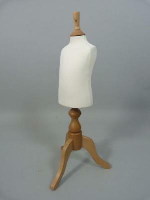 Useful child mannequin / dressform / Stockman with wooden stand - 1-3 yrs