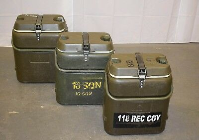 British Army - Military - 18 Litre Norwegian Hot or Cold Food & Drink Container