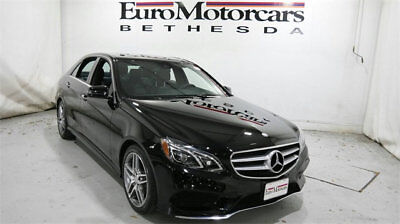 2016 Mercedes-Benz E-Class 4dr Sedan E 350 Sport 4MATIC mercedes benz e350 4matic 15 16 awd certified e350w4 black navigation sedan