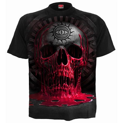 SPIRAL DIRECT  BLEEDING SOUL T-Shirt/Tattoo/Skull/Cross/Metal/Blood/New/Top/Tee
