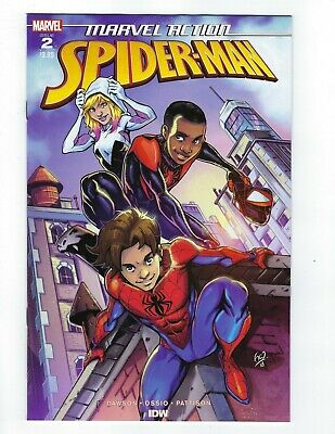 Marvel Action Spider-Man # 2 Cover A All Ages NM IDW Pre Sale Ships Feb 27th