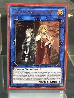 Yugioh Isolde, Two Tales of The Noble Knights EXFO-EN094 Ultra Rare 1st Edition