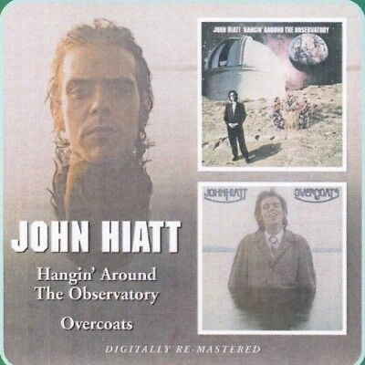 John Hiatt - Hangin' Around The Observatory/overcoats Rem.  Cd New+