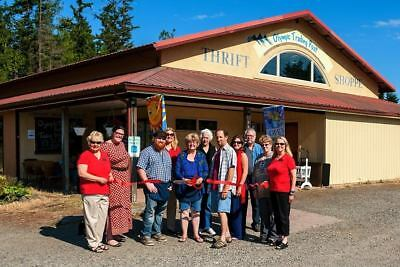 Established Thrift Store Business in WA State - Olympic Trading Post