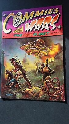 Commies From Mars 2 Last Gasp 1979 Underground Comics/Comix