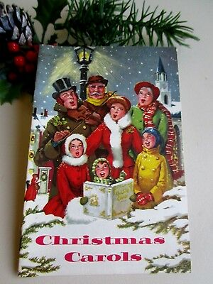 Vintage Anaheim Savings And Loan Association Christmas Carol Booklet&sheet Music