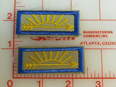 2 Arrow of Light youth uniform patches  (rC)