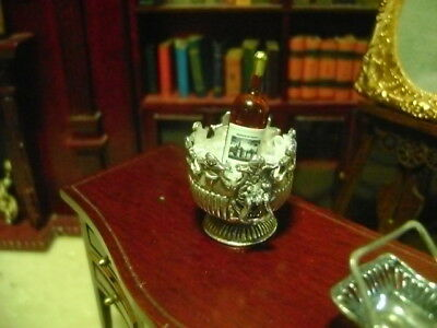 Vintage Miniature dollhouse sterling silver Victorian  bowl or champagne