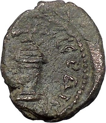 SEPTIMIUS SEVERUS Rare Serdica in Thrace Ancient Roman Coin Serpent i49444