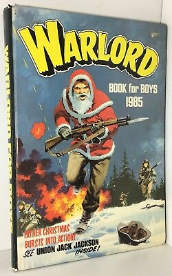 Warlord Book For Boys 1985 Annual - Good Condition - Unclipped