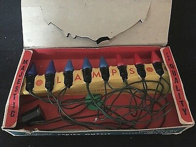 Vintage Eight (8) C-6 Majestic Lamps  All Working