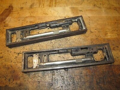 Two Starrett 133 Engineer or Plumbers Levels, 2 Units For Restoration or Use