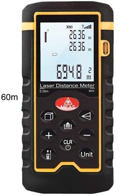 Lazer distance measure,handheld 60m easy to use. measurement