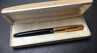 Parker 51 Aerometric Custom Fountain Pen, Made in Argentina (R.#x2391)