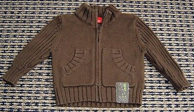 Esprit Baby Boys Cotton Cardigan  Sz 0 - 3 Months