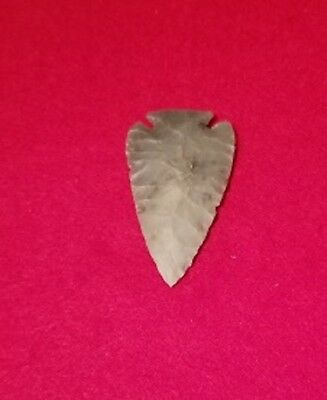Corner notch reproduction arrowhead/projectile point