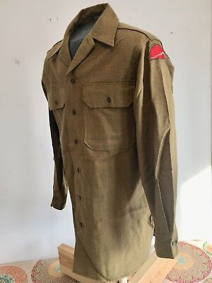 WWII 78th Infantry division shirt near mint condition