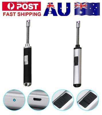 Electric Cigarette Lighter Arc Pulse Plasma Igniter USB Rechargeable Charging AU