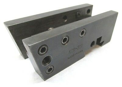 Kdk-201 Turning & Facing Bar Combination Quick-Change Tool Holder - Modified