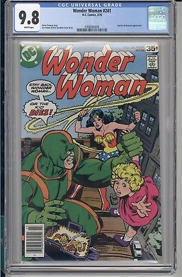 Wonder Woman #241 CGC 9.8 White Pages DC 1978