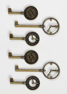 Graphic 45 Staples Collection CHOOSE Clock Keys Square Tag, Tag&Flower Tag Gears
