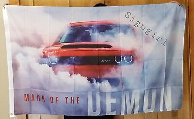 SRT Mopar Flag NHRA Racing 3x5ft Dodge Auto Sign Banner Car Hellcat Demon