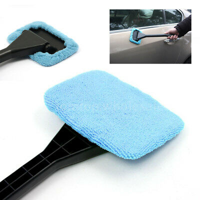 Car Windshield Clean Cloth Cover Pad Hard-To-Reach Window Glass Cleaner Tool