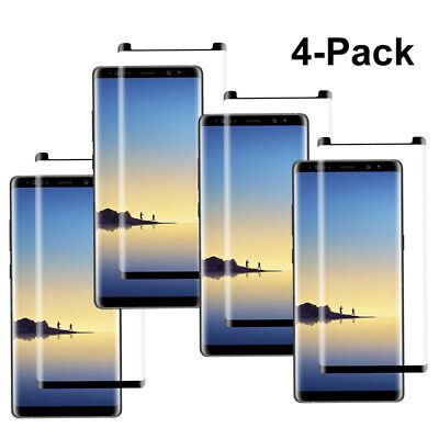 Case Friendly Tempered Glass Screen Protector fr Samsung Galaxy Note 8 9 S9 Plus