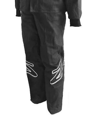 Zamp ZR-10 SFI 3.2A/1 Black Single Layer Race Pant Size Large R01P003L