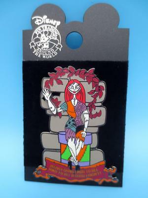 Disney Nightmare Before Christmas pin 13 treats in 5 Frightful weeks Sally  LE