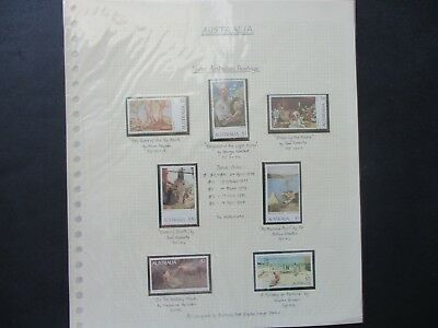 Australian Stamps: Mint Decimal Collection on Pages - Great Mix  FREE POST (D93)