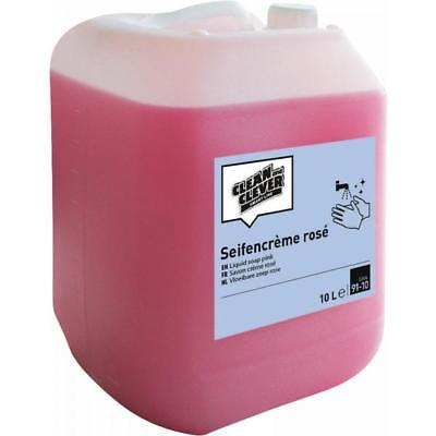 Clean and Clever Cremeseife Rose 10.000 ml SMA91-10 10l (4024009026140)