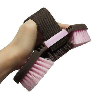 Horsem Magnetic Grooming Brush Rubber Curry Comb Stable Caring Aid