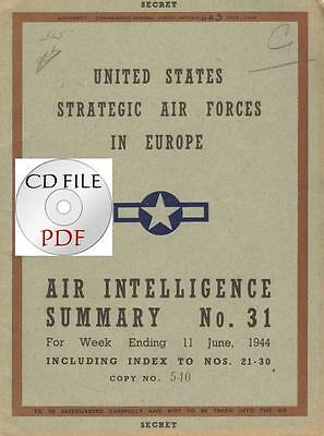 CDFile Air Intelligence Summary 1944 6 11 Normandy GAF Tactics Morale Helicopter