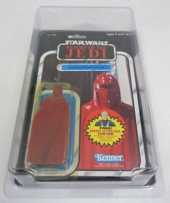 Vintage Star Wars EMPEROR'S ROYAL GUARD Unopened 79-Back & Star Case 1984 ROTJ