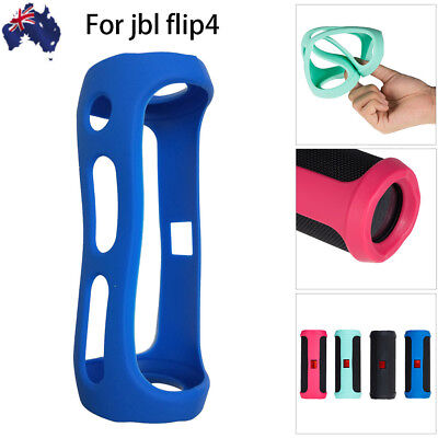 For Jbl FLIP 4 Bluetooth Speaker Cool Portable Mountaineering Silicone Case AU