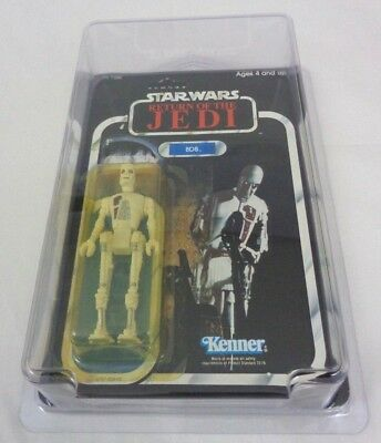 Vintage Star Wars 8D8 Unopened Unpunched 77-Back & Star Case Return of the Jedi