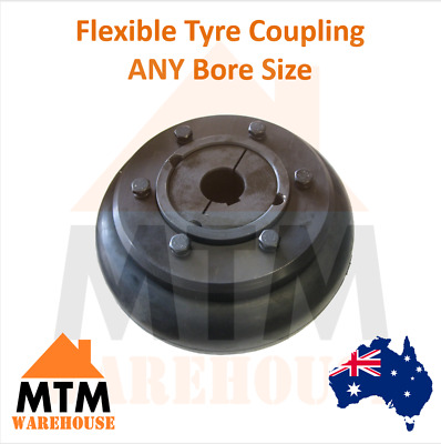 Flexible Tyre Coupling - Taper Lock Flex Tire Industrial Any Bore size