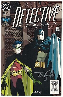 Detective Comics #647 VF/NM (Aug 1992, DC) 1st App. Spoiler. Signed by Tom Lyle!