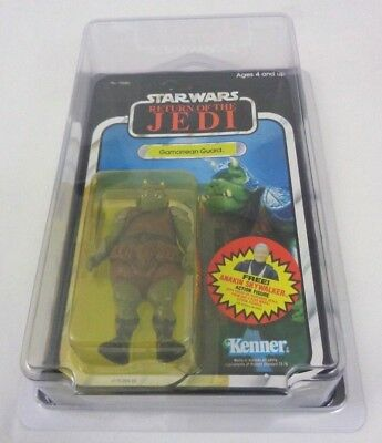 Vintage Star Wars GAMORREAN GUARD Unopened Unpunched 77-Back & Star Case ROTJ