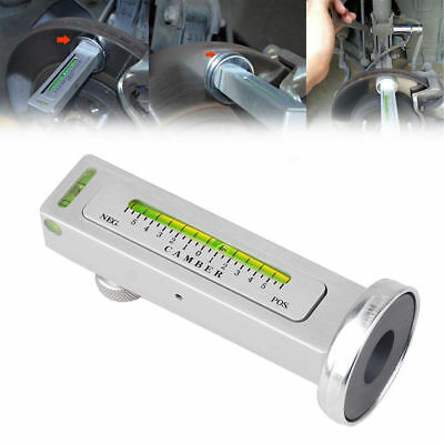 Magnetic Gauge Tool Fit Car Truck Camber Castor Strut Wheel Alignment Stock GN
